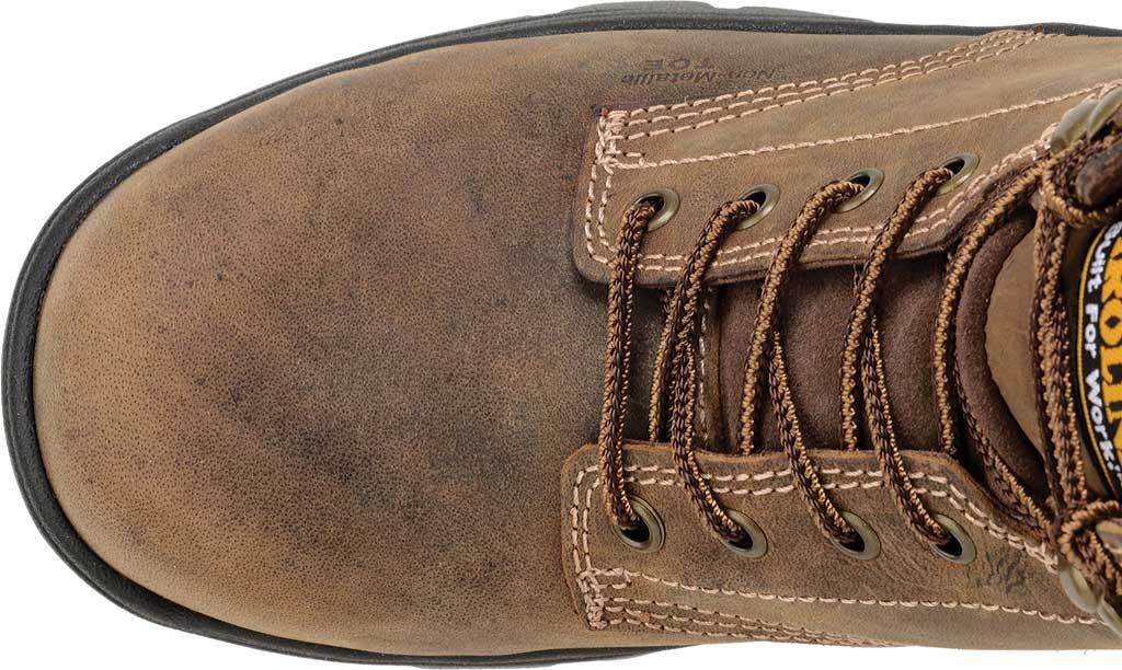 """Men's Carolina 6"""" Waterproof Composite Toe Work Boot CA3536"""", Dark Brown, large, image 4"""