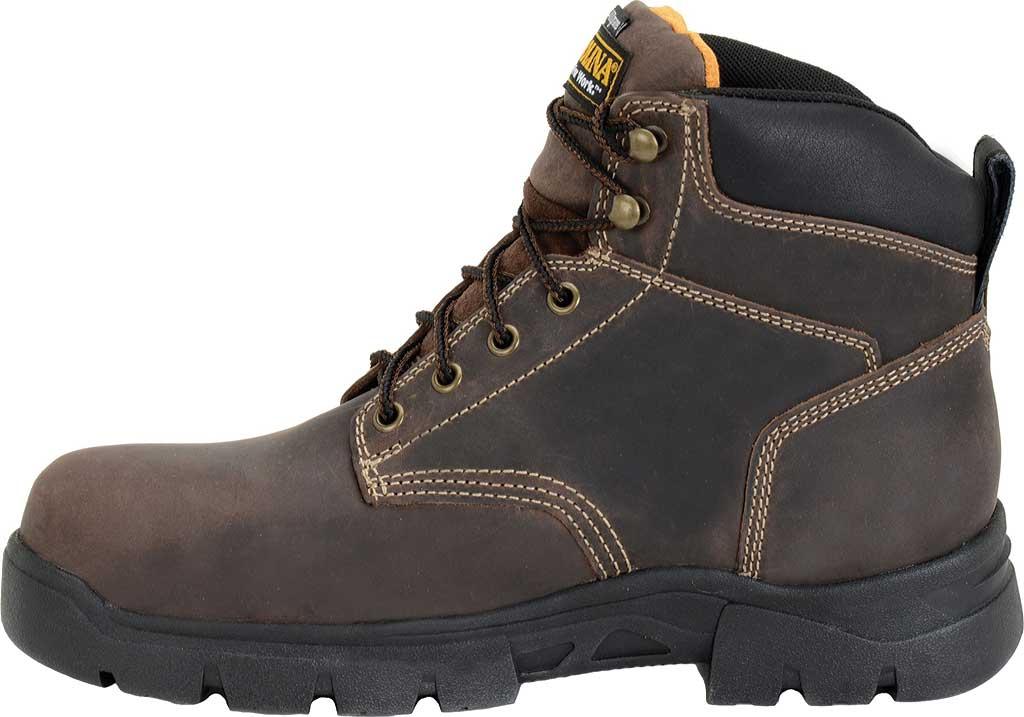 "Men's Carolina 6"" Waterproof Insulated Composite Toe Work Boot, Dark Brown, large, image 2"
