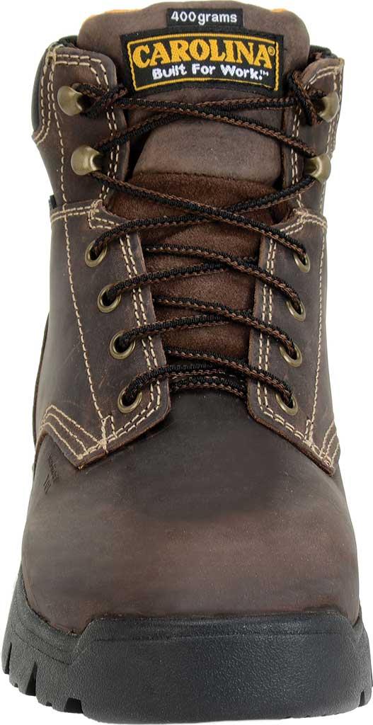 "Men's Carolina 6"" Waterproof Insulated Composite Toe Work Boot, Dark Brown, large, image 3"