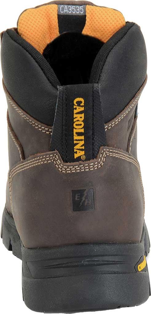 "Men's Carolina 6"" Waterproof Insulated Composite Toe Work Boot, Dark Brown, large, image 4"