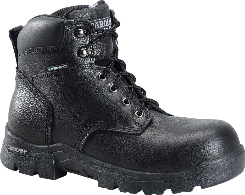 "Men's Carolina 6"" Waterproof Composite Toe Work Boot CA3537"", Black, large, image 1"