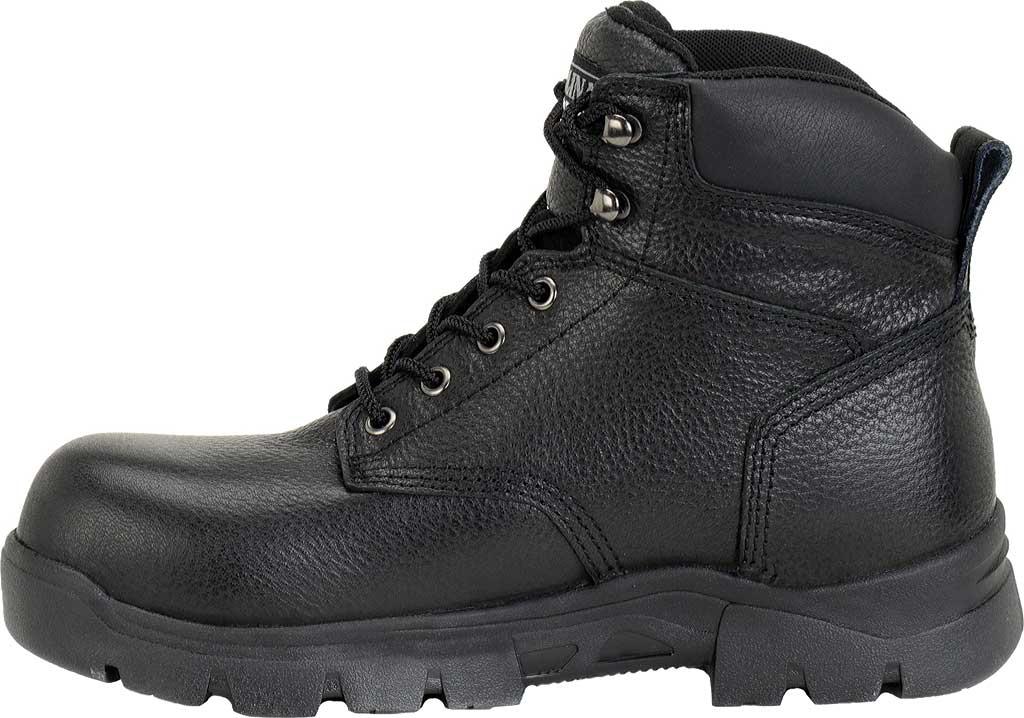 "Men's Carolina 6"" Waterproof Composite Toe Work Boot CA3537"", Black, large, image 2"