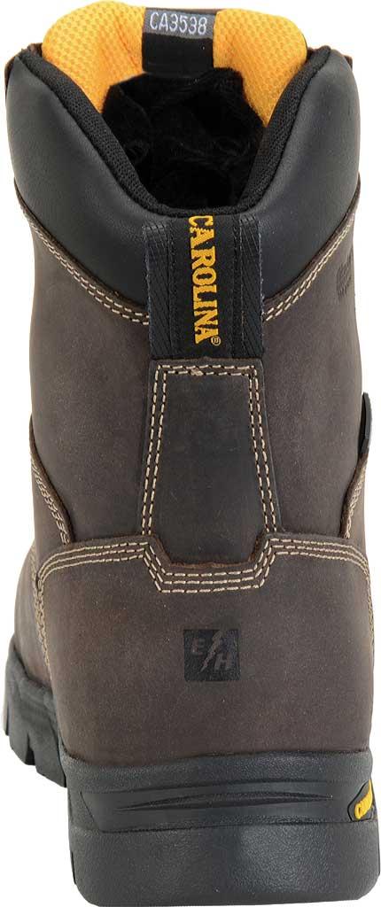 "Men's Carolina 8"" Waterproof Insulated Composite Toe Work Boot, Dark Brown, large, image 3"