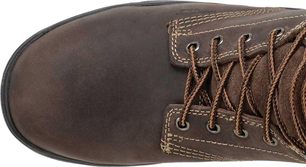 "Men's Carolina 8"" Waterproof Insulated Composite Toe Work Boot, Dark Brown, large, image 4"