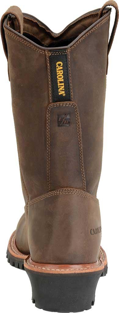 "Men's Carolina 12"" Waterproof Composite Toe Ranch Wellington, Dark Brown, large, image 3"