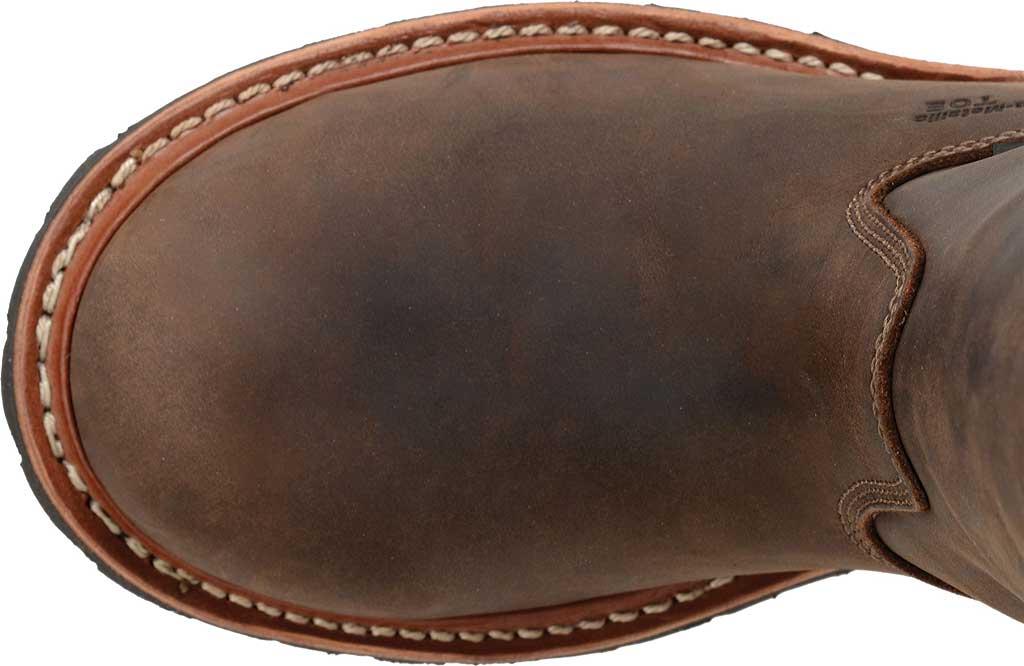 "Men's Carolina 12"" Waterproof Composite Toe Ranch Wellington, Dark Brown, large, image 4"