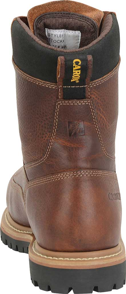 "Men's Carolina CA5529 8"" Waterproof Composite Toe Work Boot, Brown Leather, large, image 3"