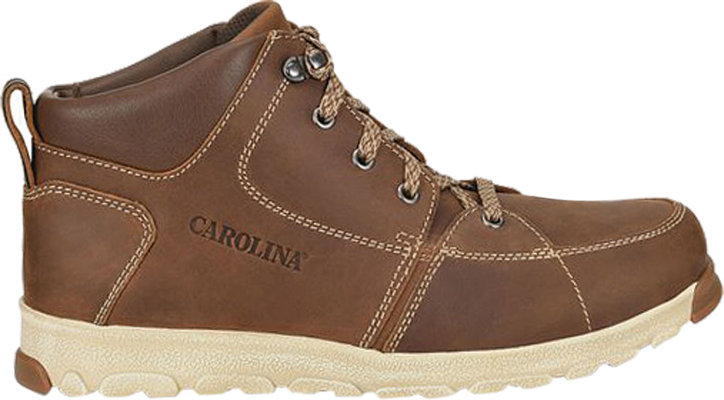Men's Carolina S-117 Lightweight ESD Aluminum Toe Hiker, Dark Brown Leather, large, image 2