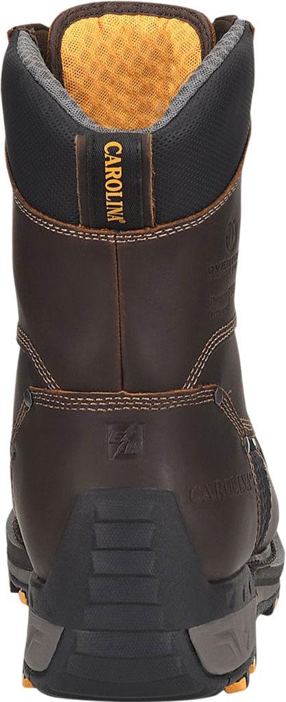 "Men's Carolina Maximus 2.0 8"" WP Insulated Comp Toe Work Boot, Dark Brown Leather, large, image 4"