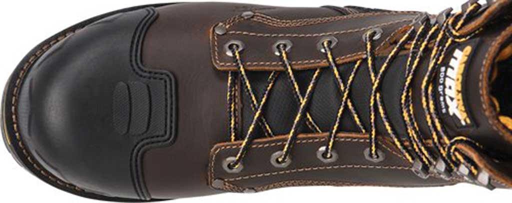 "Men's Carolina Maximus 2.0 8"" WP Insulated Comp Toe Work Boot, Dark Brown Leather, large, image 5"