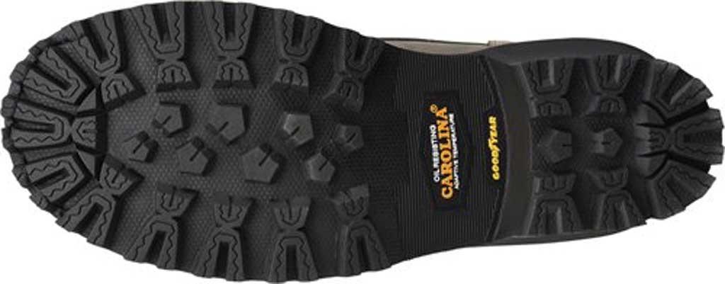 "Men's Carolina Pitstop 8"" Waterproof Carbon Comp Toe Logger, Grey Leather, large, image 6"