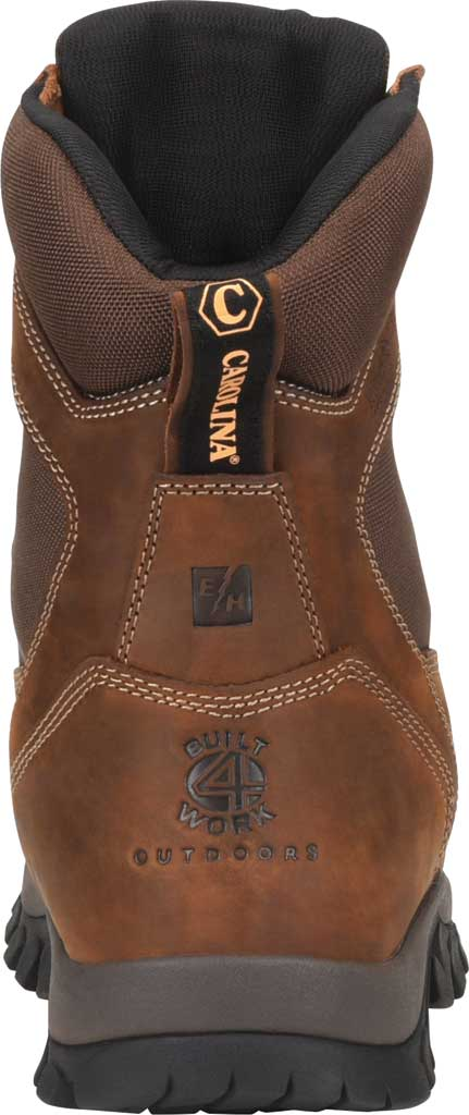 """Men's Carolina Insulated Forrest 8"""" WP Insulated 4x4 Work Boot, Dark Brown Copper Crazy Horse Leather/Nylon Mesh, large, image 3"""
