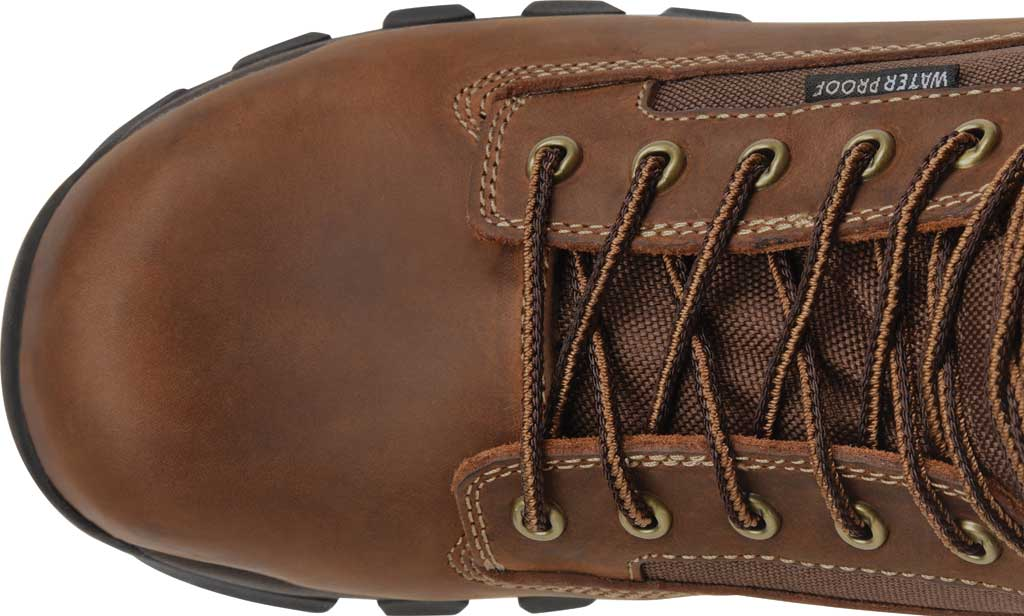"""Men's Carolina Insulated Forrest 8"""" WP Insulated 4x4 Work Boot, Dark Brown Copper Crazy Horse Leather/Nylon Mesh, large, image 4"""