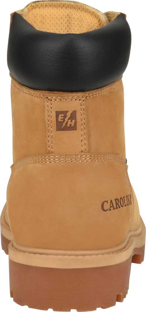 "Men's Carolina 6"" Waterproof 200G Work Boot, Light Beige Wheat Nubuck, large, image 4"