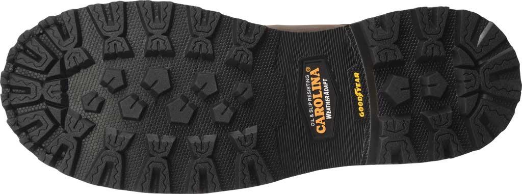 "Men's Carolina 8"" Waterproof Carbon Comp Toe Work Boot, Dark Brown Saddleback Leather, large, image 6"