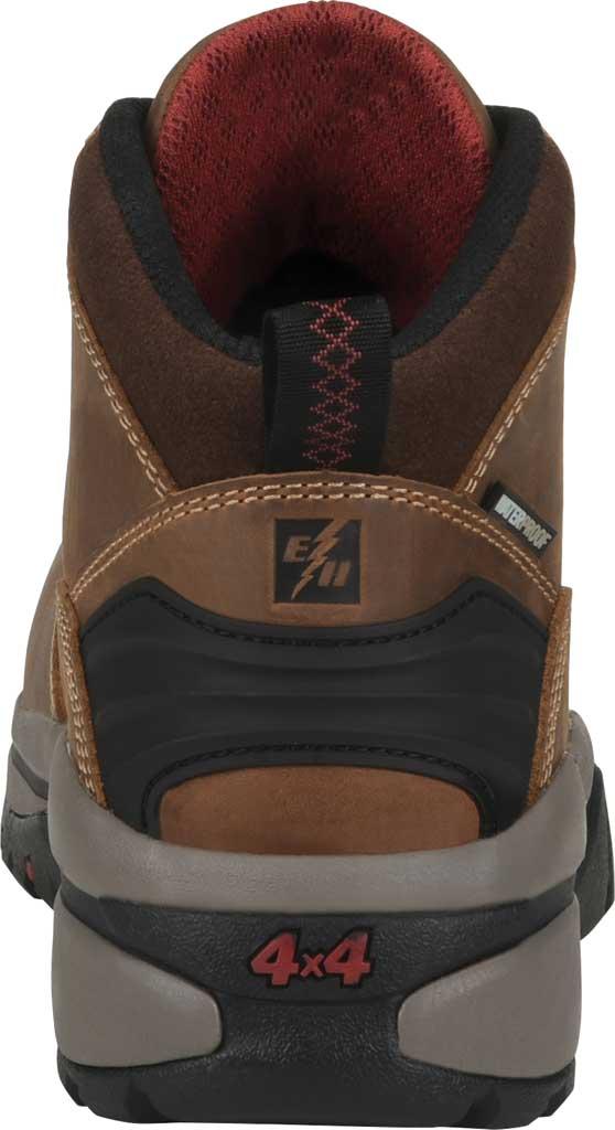 "Men's Carolina 6"" Waterproof Carbon Comp Toe Hiker Boot, Dark Brown Buggy Whip Tobacco Leather, large, image 4"