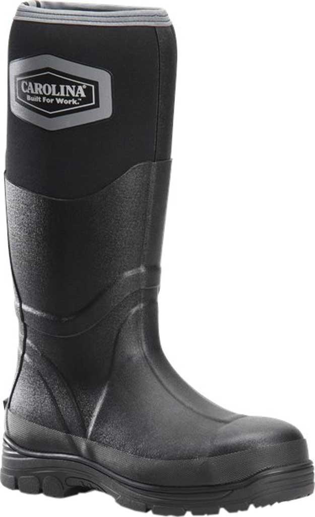 "Men's Carolina Graupel 16"" Steel Toe Waterproof Boot, Black Neoprene/Rubber, large, image 1"