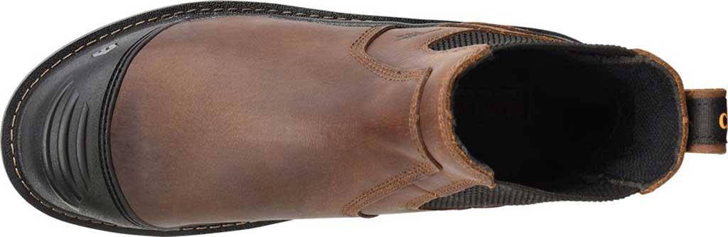 "Men's Carolina Cortex 5.5"" Composite Toe Work Boot, Dark Brown Neutral Mahogany Leather, large, image 2"