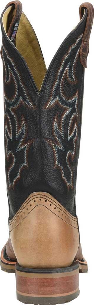 Men's Double H Grissom Cowboy Boot DH4644, Kenia Cognac Leather, large, image 3
