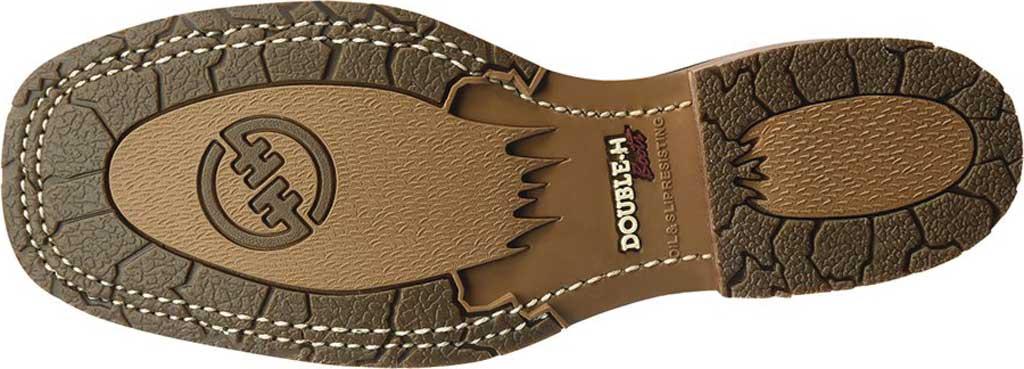 Men's Double H Grissom Cowboy Boot DH4644, Kenia Cognac Leather, large, image 5