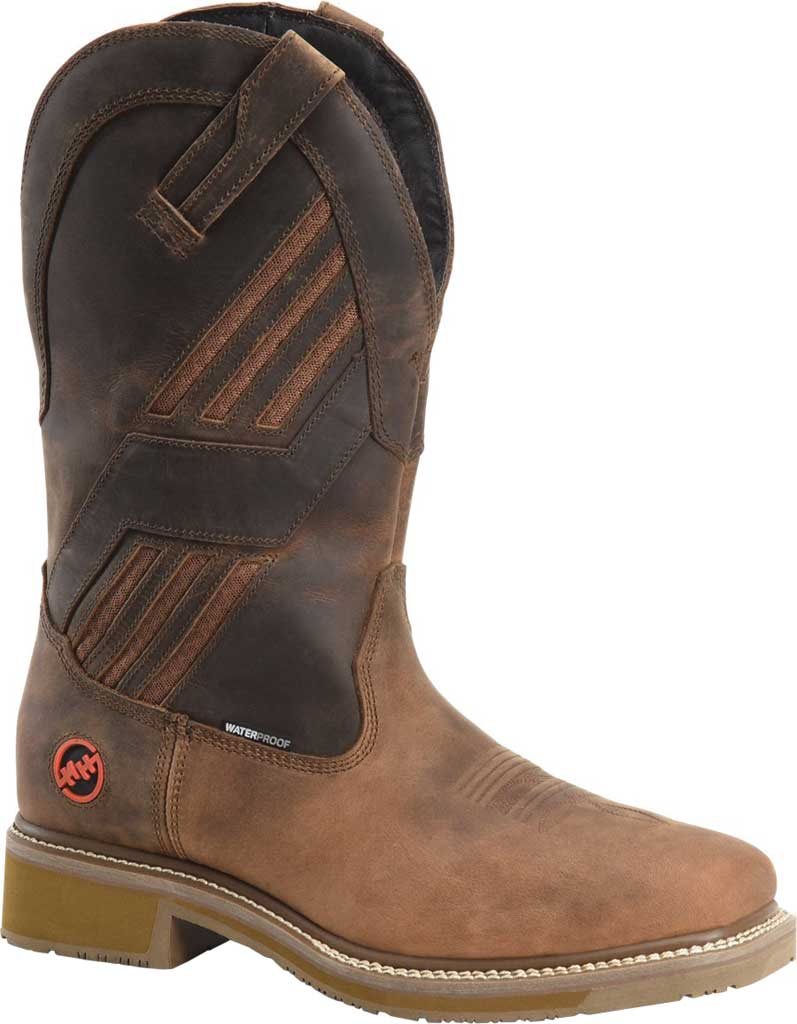 Men's Double H Kelton Composite Toe Work Boot DH5354, Parachute Rye Leather, large, image 1