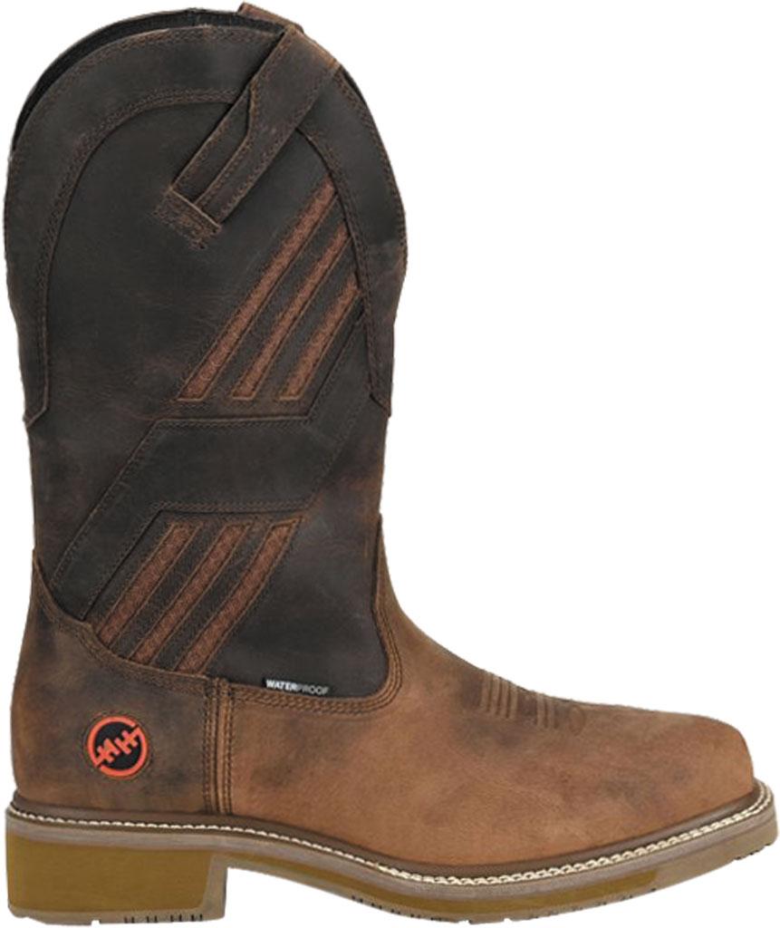 Men's Double H Kelton Composite Toe Work Boot DH5354, Parachute Rye Leather, large, image 2