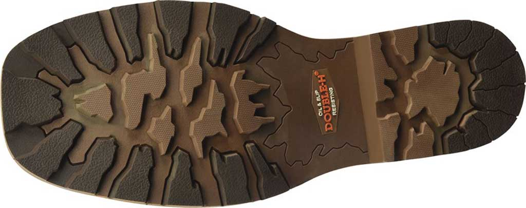 Men's Double H Abner Cowboy Boot DH4353, Medium Brown Bronco Leather, large, image 5
