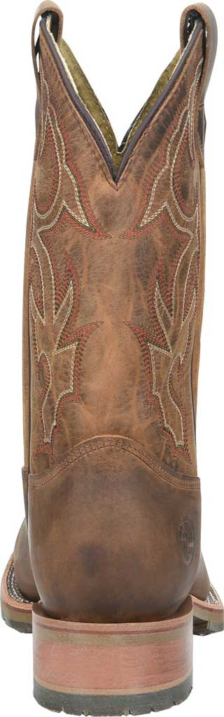 Men's Double H Anton Steel Toe Work Boot DH4637, Light Brown Old Town Folklore Leather, large, image 3