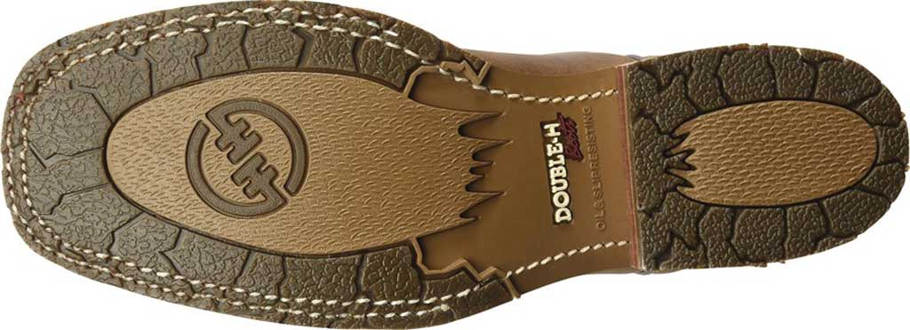 Men's Double H Anton Steel Toe Work Boot DH4637, Light Brown Old Town Folklore Leather, large, image 5