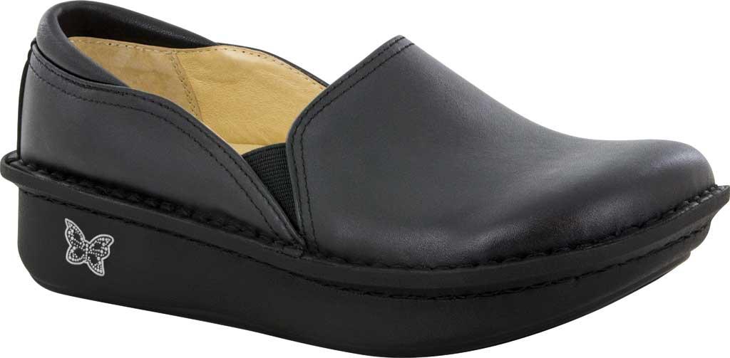 Women's Alegria by PG Lite Debra, Debra Black Leather Leather, large, image 1