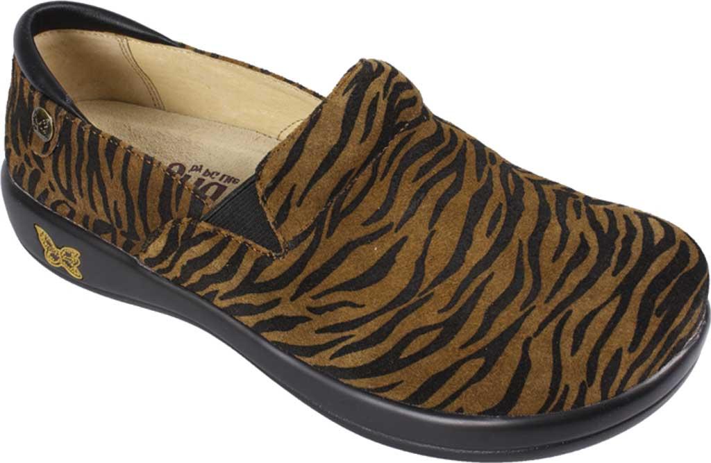 Women's Alegria by PG Lite Keli Pro Clog, Leopard Leather, large, image 1