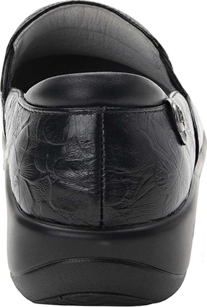 Women's Alegria by PG Lite Keli Pro Clog, Flutter Black Leather, large, image 3