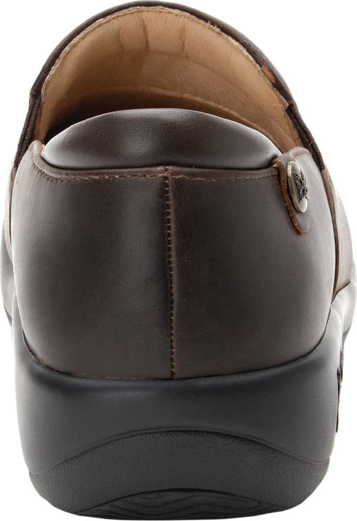 Women's Alegria by PG Lite Keli Pro Clog, Oiled Brown Leather, large, image 3