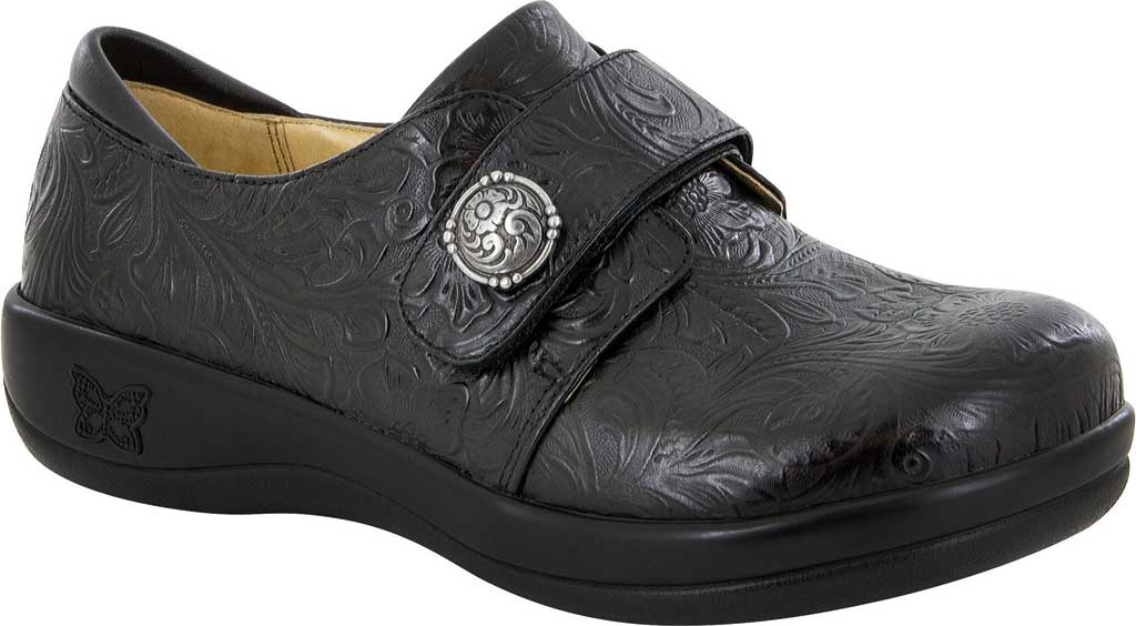 Women's Alegria by PG Lite Joleen Closed Back Clog, Tar Tooled Leather, large, image 1