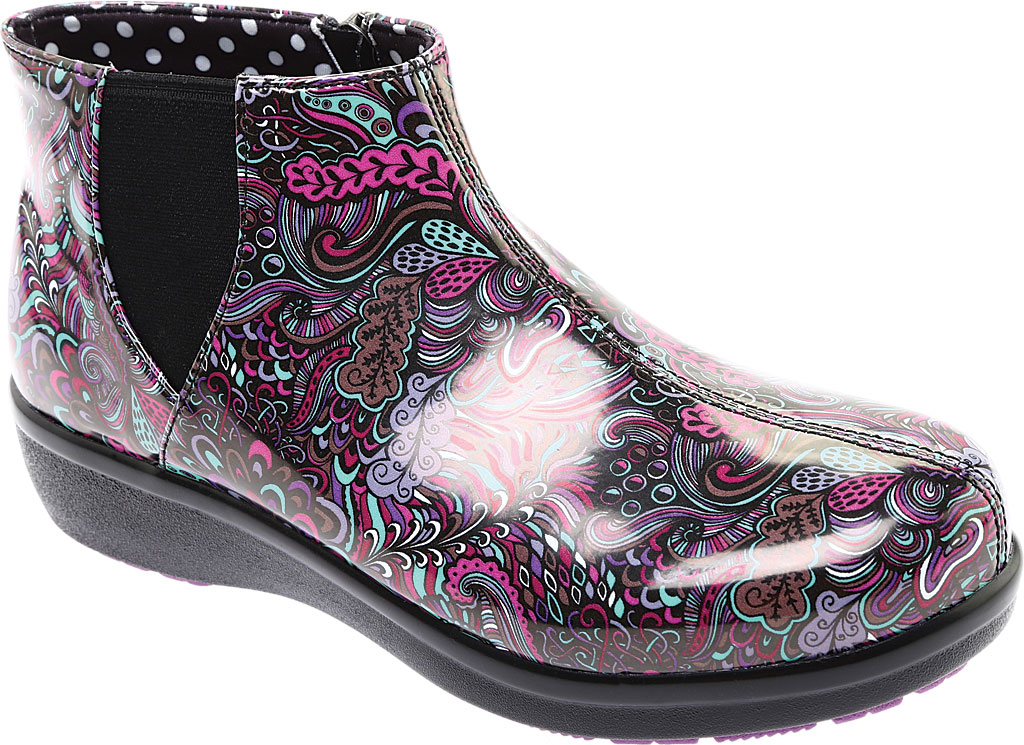 Women's Alegria by PG Lite Climatease Ankle Boot, Whack-a-Doodle Purple Rubber, large, image 1