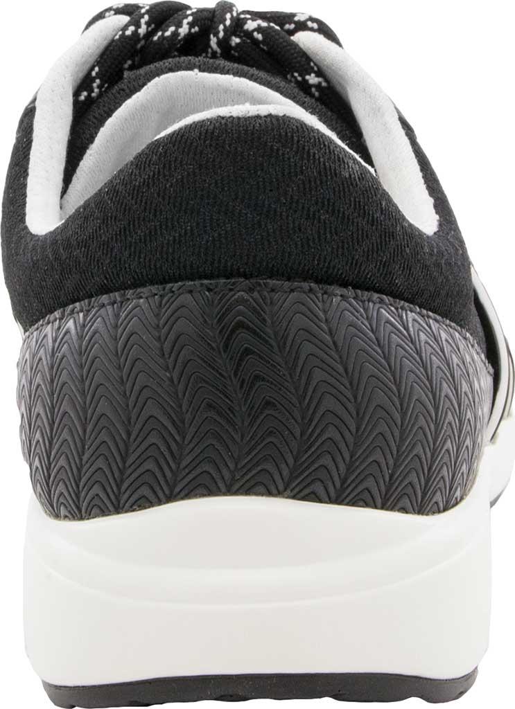 Women's Alegria by PG Lite TRAQ Qarma Sneaker, Paths Black Knit Fabric, large, image 3