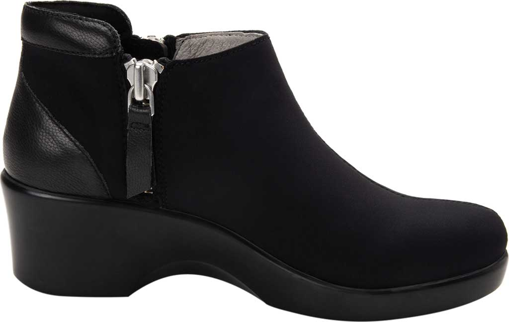 Women's Alegria by PG Lite Sloan Ankle Boot, Black Dream Fit Fabric, large, image 2