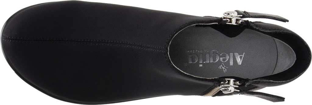 Women's Alegria by PG Lite Sloan Ankle Boot, Black Dream Fit Fabric, large, image 4