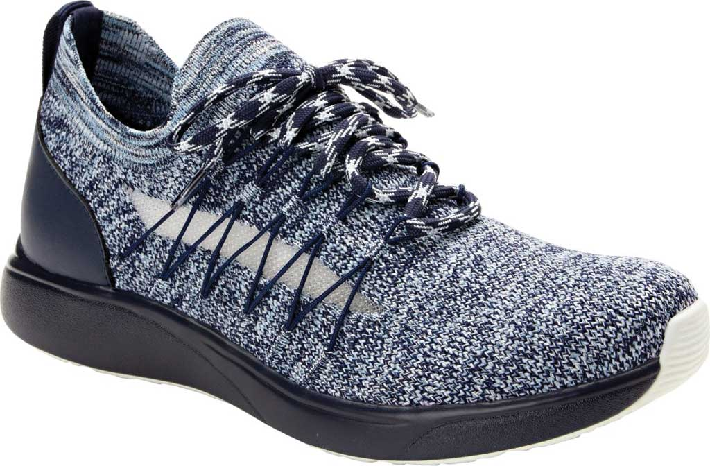 Women's Alegria by PG Lite TRAQ Synq Sneaker, Navy Knit, large, image 1