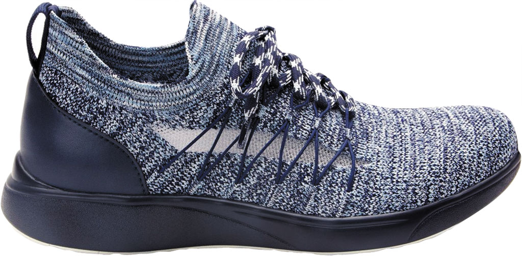 Women's Alegria by PG Lite TRAQ Synq Sneaker, Navy Knit, large, image 2