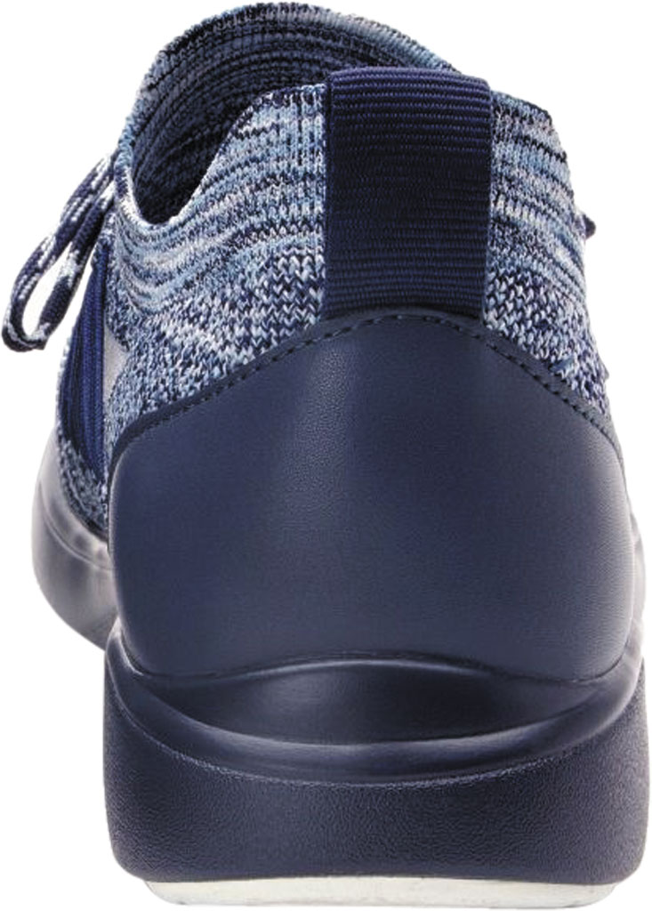 Women's Alegria by PG Lite TRAQ Synq Sneaker, Navy Knit, large, image 3