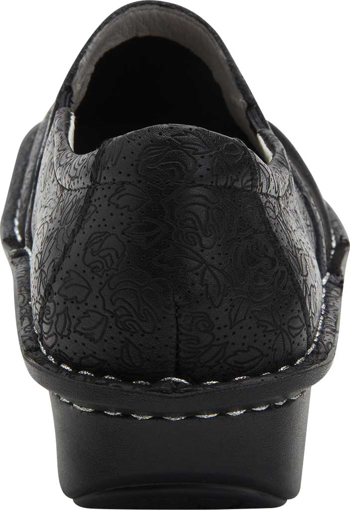 Women's Alegria by PG Lite Brook Closed Back Clog, Ink Impressions Dream Fit Leather/Neoprene, large, image 3