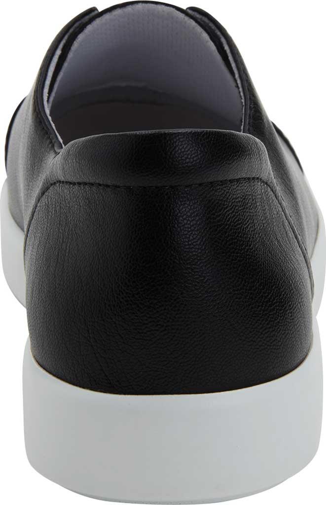Women's Alegria by PG Lite Posy Slip On Sneaker, Black Nappa Vegan Leather, large, image 3
