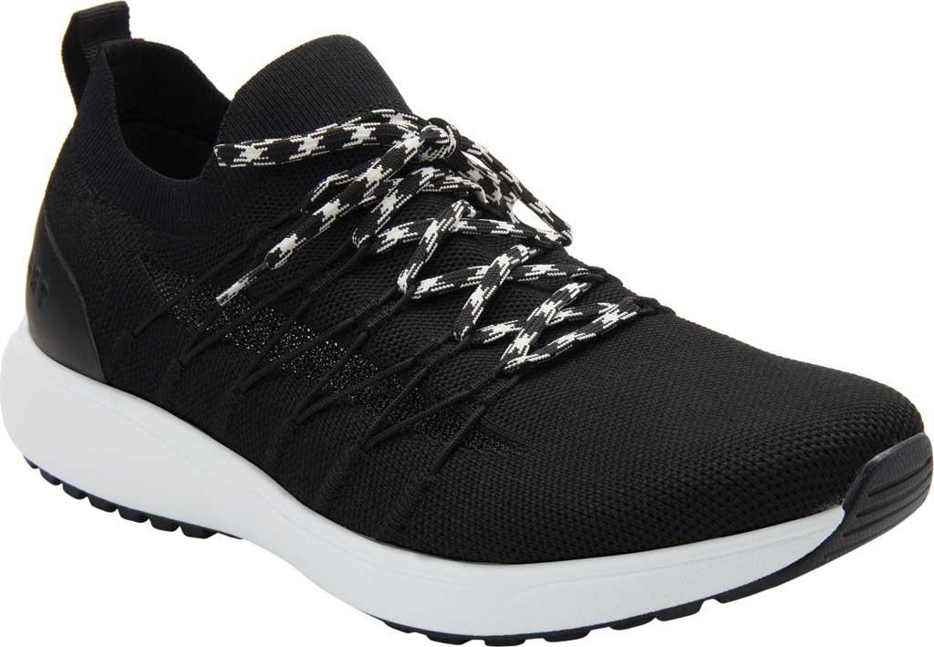 Men's Alegria by PG Lite TRAQ Synq 2 Sneaker, Black Top Knit, large, image 1