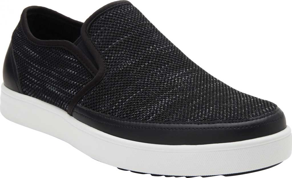 Men's Alegria by PG Lite TRAQ Sleeq Slip On Sneaker, Ink Knit, large, image 1