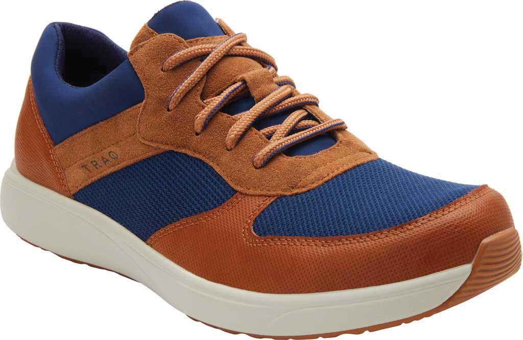 Men's Alegria by PG Lite TRAQ Old School Sneaker, Blue Mesh, large, image 1