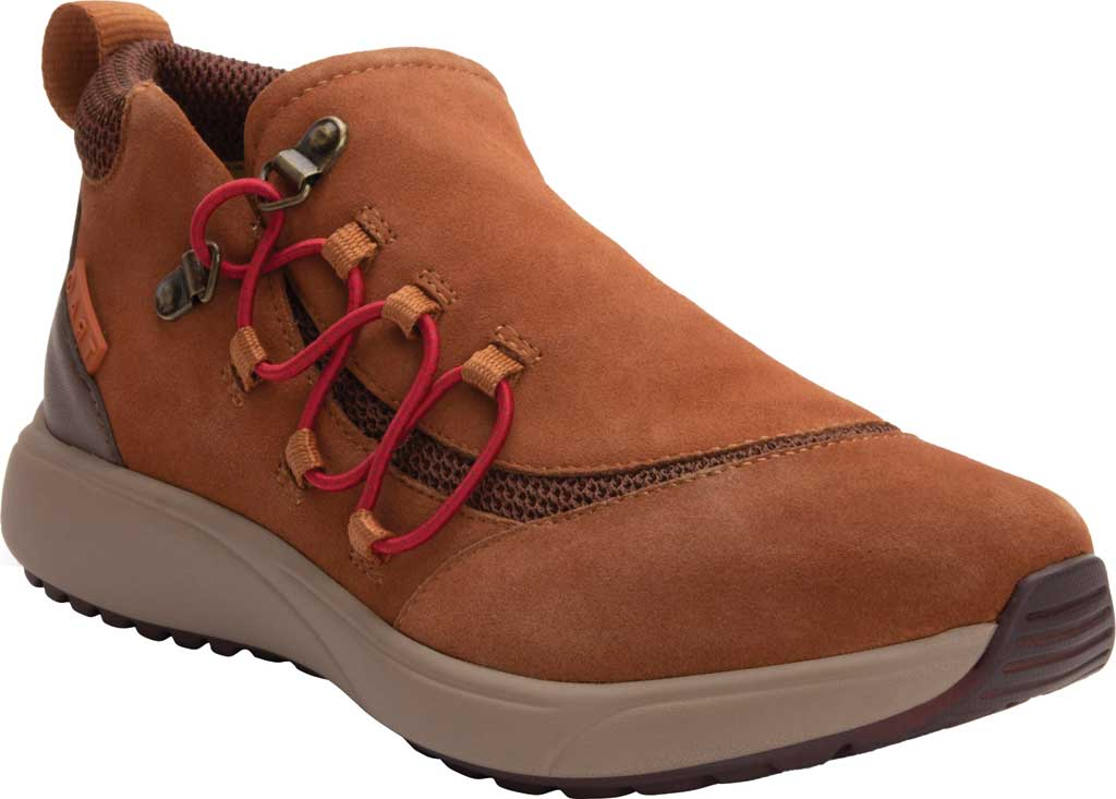 Women's Alegria by PG Lite TRAQ Vista Sneaker, Throwback Suede, large, image 1