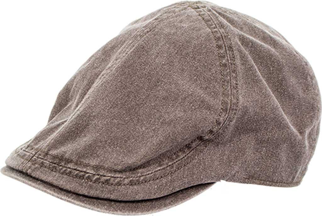 Peter Grimm Nevis Flat Cap, Brown, large, image 1