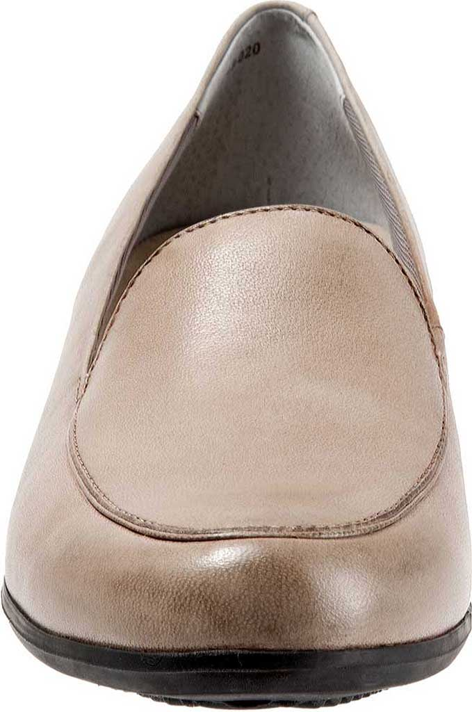 Women's Trotters Monarch Loafer, Grey Leather, large, image 4