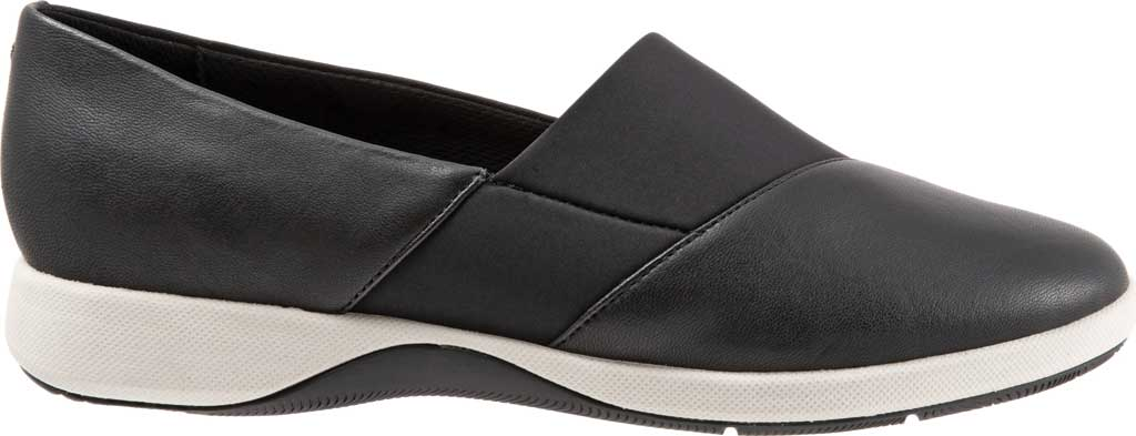 Women's SoftWalk SAVA Hana Slip-On, Black Soft Nappa Leather, large, image 2